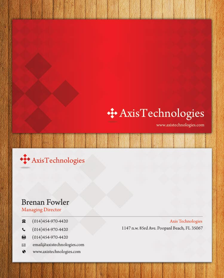 #87 for Inspiring Business Card & logo Design for Technology company by mydZnecoz