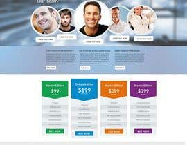 #9 for Design a clean and modern original PSD template af MagicalDesigner