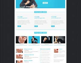 nº 20 pour Design a clean and modern original PSD template par gravitygraphics7