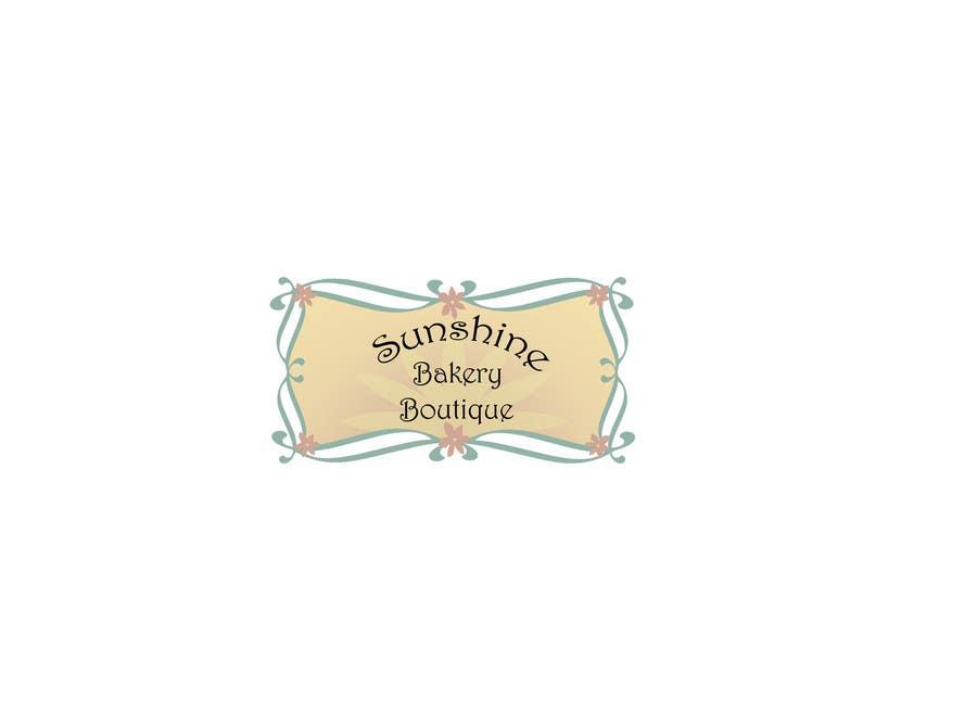 Inscrição nº 19 do Concurso para Logo Design for Sunshine Bakery Boutique a new bakery I am opening.