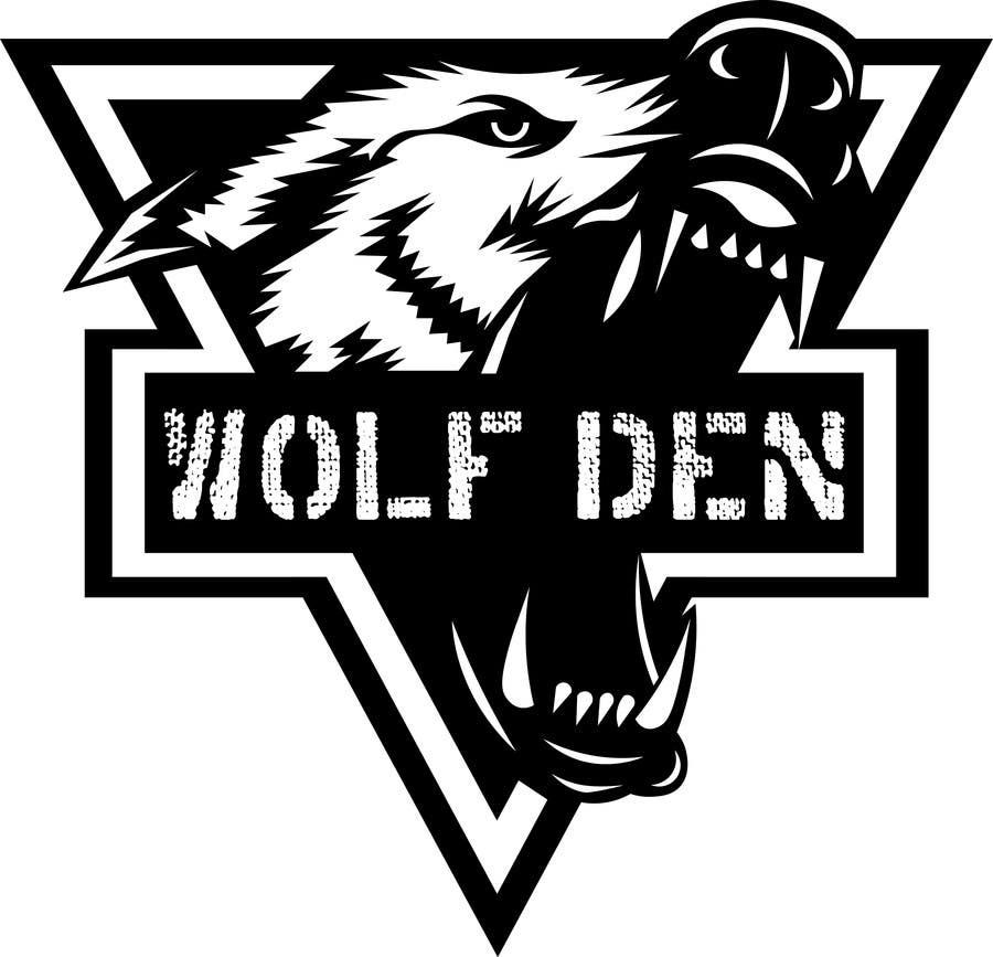 wolf den logo design freelancer