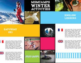 #22 untuk Design a Brochure for kids ski camps,husky outings and christmas present ideas oleh AmadorMouro