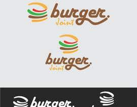 Nro 22 kilpailuun Design a simple minimalist-ish logo for a burger joint käyttäjältä Sanurikarunia