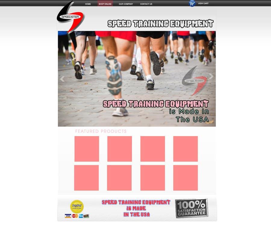 #2 for Custom Sports Equipment Website Design by dworker88