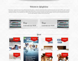 nº 1 pour Build a flyer design Website par sammi67