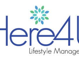 #51 para Design a Logo for 'Here 4 U - Lifestyle Management' por andreaosorioj