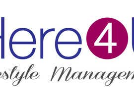 #66 para Design a Logo for 'Here 4 U - Lifestyle Management' por karmenflorea