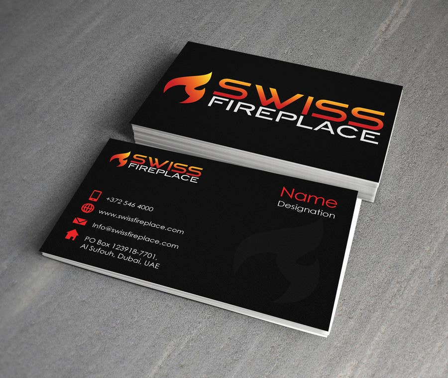 Bài tham dự cuộc thi #10 cho Design some Business Cards for our company selling Fireplaces
