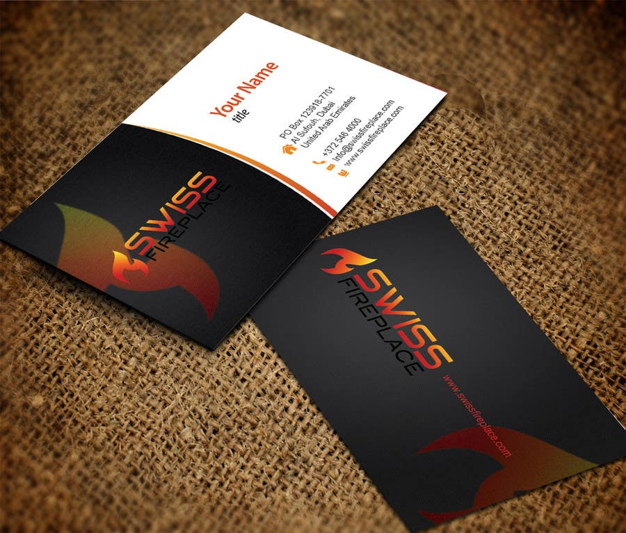 Bài tham dự cuộc thi #37 cho Design some Business Cards for our company selling Fireplaces