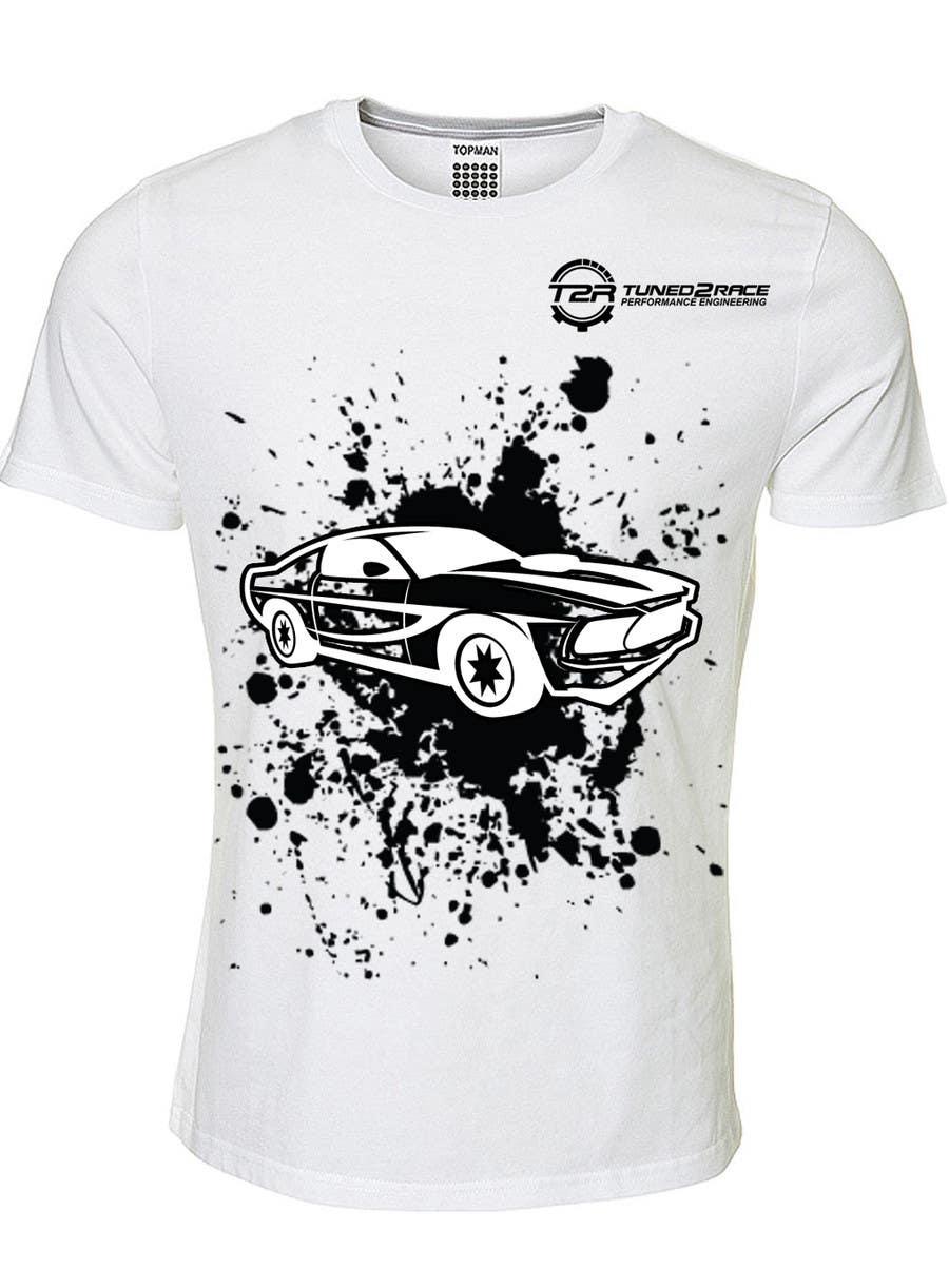Penyertaan Peraduan #9 untuk Design a T-Shirt for Tuned2Race