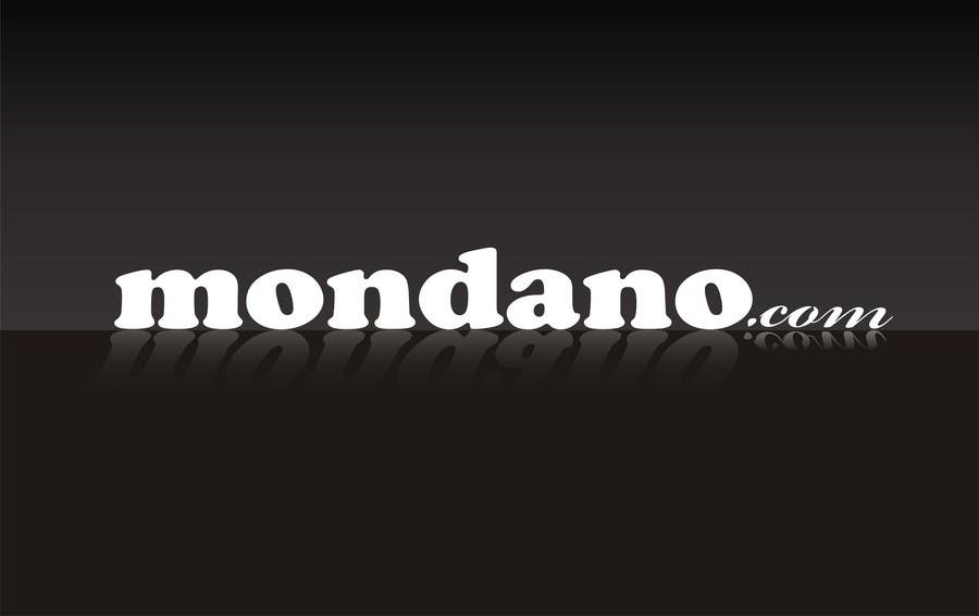 Contest Entry #367 for Logo Design for Mondano.com