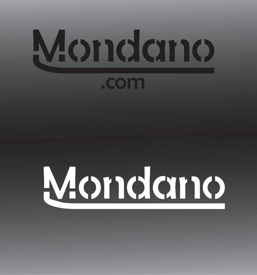 Proposition n°388 du concours Logo Design for Mondano.com