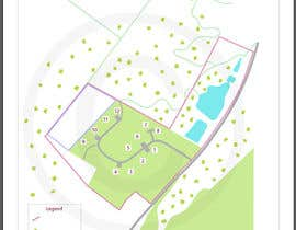 DrGrafix tarafından Illustrate our lodge park site map için no 15
