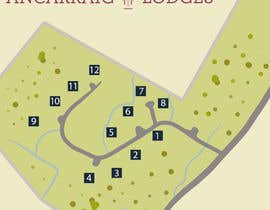 jesoz tarafından Illustrate our lodge park site map için no 20