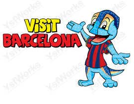 #45 for Barcelona Trip Website Logo with a Character Mascot (read carefully my requirements) af ysfworks