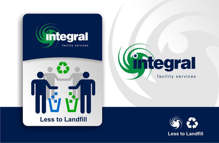Konkurrenceindlæg #                                        56                                      for                                         Graphic Design for Integral Facility Services