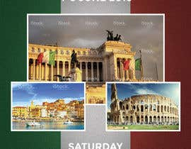 ncdesignerr tarafından Design a Flyer for a company event in Rome için no 18