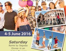 jassna tarafından Design a Flyer for a company event in Rome için no 21