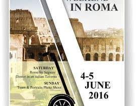 danibell tarafından Design a Flyer for a company event in Rome için no 10