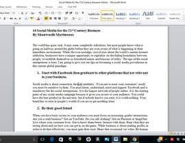 Nro 2 kilpailuun Need to Create Social Media Handout Guide käyttäjältä nellemartineaux