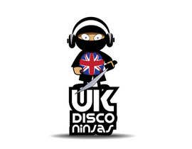 #18 para Design a Logo for UK Disco Ninjas clan por rolandhuse