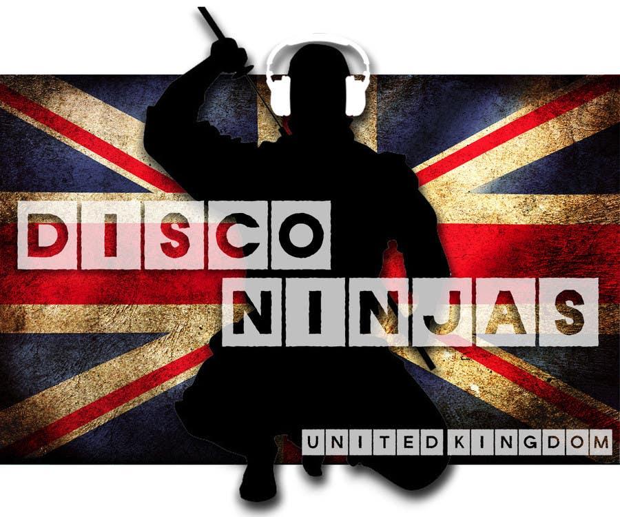Inscrição nº 2 do Concurso para Design a Logo for UK Disco Ninjas clan