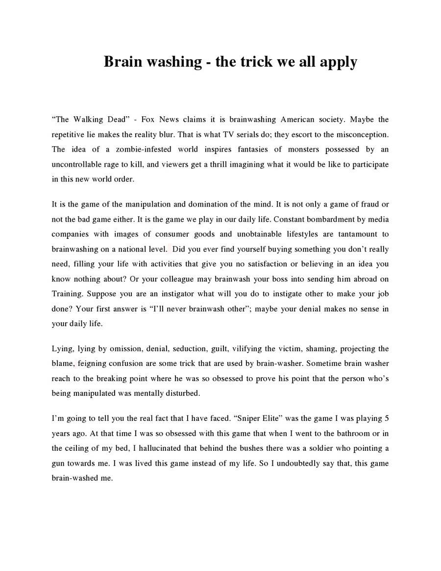 Entry 12 by puranjannepal for 500 words essay story freelancer