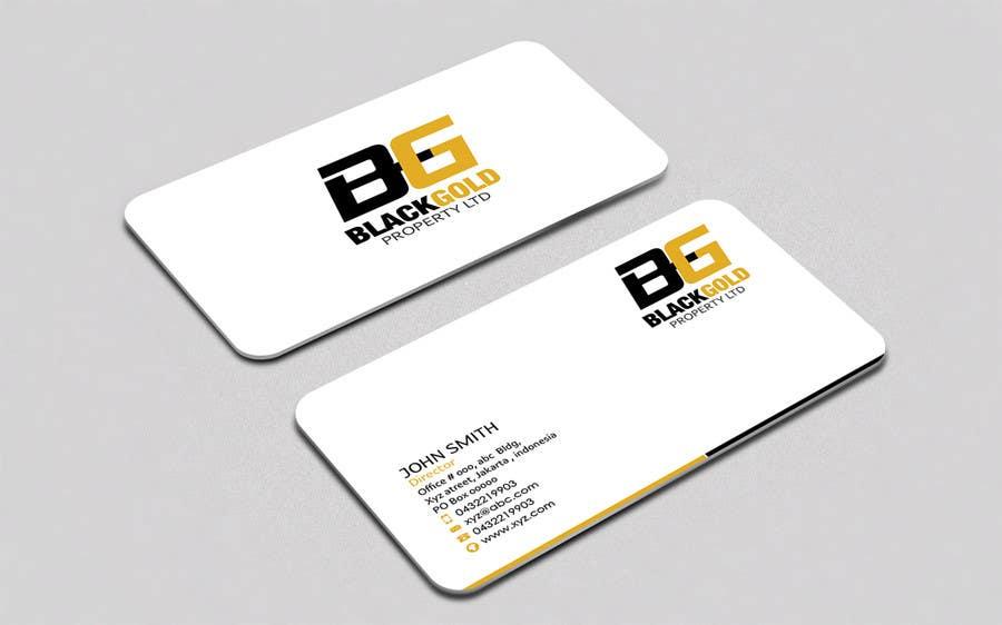 Kilpailutyö #19 kilpailussa Business card Design and logo to support it.