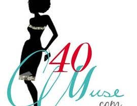 #22 untuk Logo Design for 40muse.com,a digital publication for black women ages 40+ oleh fashioninsider