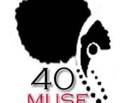 #25 para Logo Design for 40muse.com,a digital publication for black women ages 40+ por fashioninsider