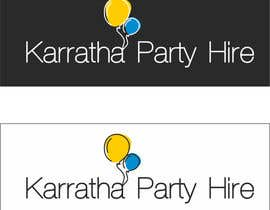 #4 untuk Design a logo for Karratha Party Hire oleh tinapescado