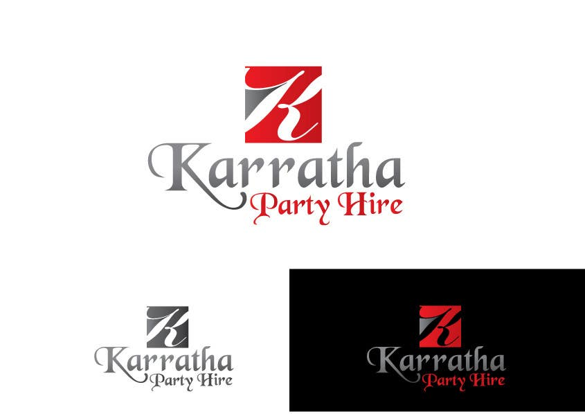#40 for Design a logo for Karratha Party Hire by Debasish5555