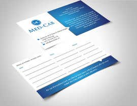 #12 para Med-Cab Business Card Design por doodledooo