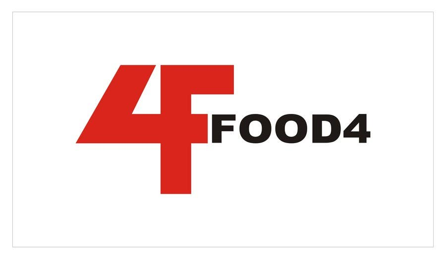 #154 for Logo Design for Food4 by darwinjepti