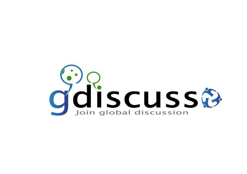 #32 for Design a Logo for gdiscuss.com by BogdanBM