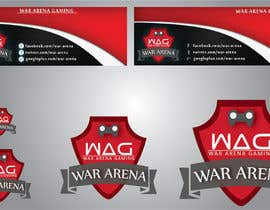 nº 33 pour Design a Logo for War-arena Gaming par GamingLogos