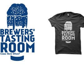 #9 para Design a Logo/T-Shirt for Brewers' Tasting Room por haniputra