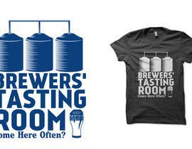 #13 para Design a Logo/T-Shirt for Brewers' Tasting Room por haniputra