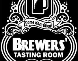 #2 para Design a Logo/T-Shirt for Brewers' Tasting Room por websitefor99
