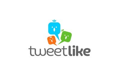 "#73 for Design a Logo for 'TweetLike"" by rogerweikers"