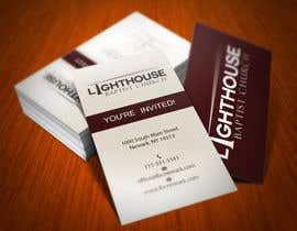 #19 untuk Design some Business Cards for a Church oleh HammyHS