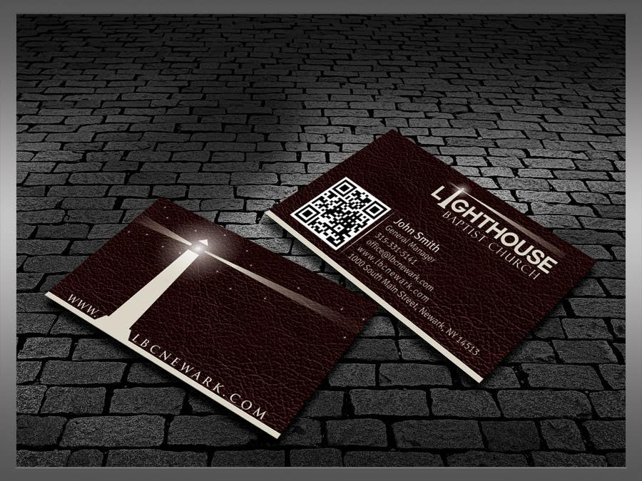 Inscrição nº 8 do Concurso para Design some Business Cards for a Church