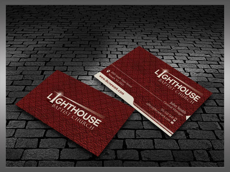 Penyertaan Peraduan #11 untuk Design some Business Cards for a Church