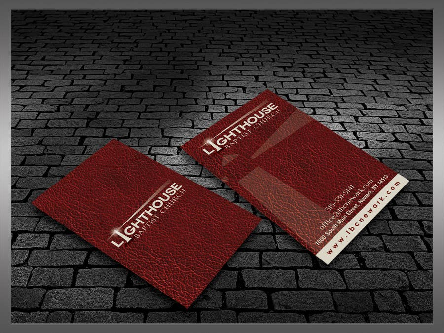 Inscrição nº 23 do Concurso para Design some Business Cards for a Church