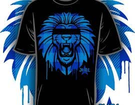#35 for JUEL Lion T-shirt Design af iYNKBRANE