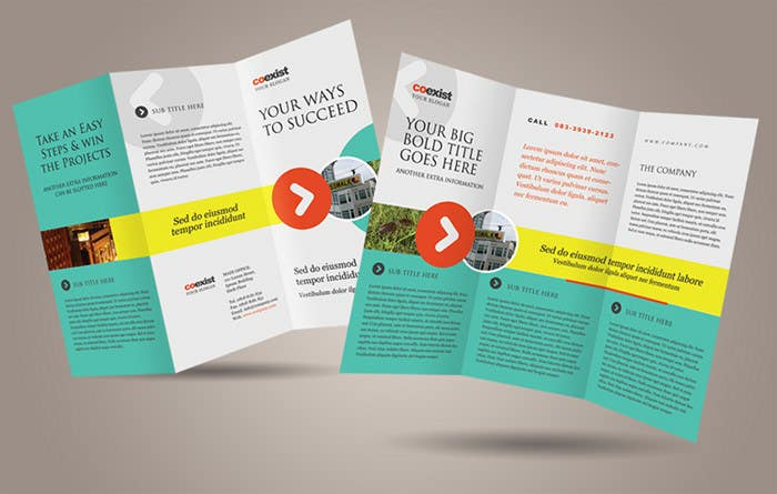 #24 for Design a Brochure for 3 related businesses by usaart