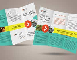 #24 untuk Design a Brochure for 3 related businesses oleh usaart