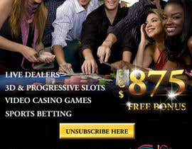 #26 for Design an Advertisement for an Online Casino by designerdesk26