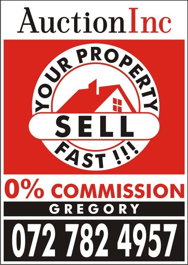 Inscrição nº 137 do Concurso para Design an Advertisement for Auction Company