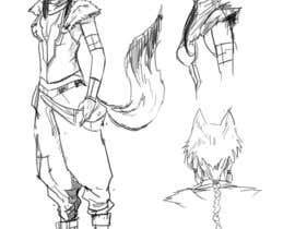 #28 for Character Pencil Sketches by rbanu7banban